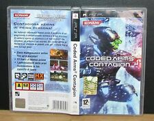 CODED ARMS CONTAGION - PSP - PlayStation Portable - UMD - Italiano - Usato