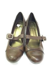 Clark Brown Ladies Shoes- Size: UK 7
