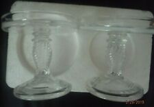 Longaberger Glass Pedestal Candle Stand # 71338