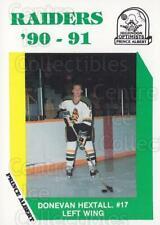 1990-91 Prince Albert Raiders #4 Donevan Hextall