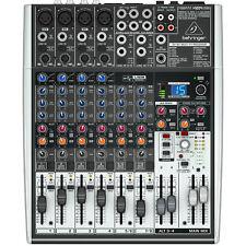Behringer Xenyx X1204USB - Studio Mischpult Mixer PA Bühne - OVP & NEU