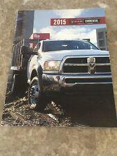 2015 Dodge Ram Commercial 36-page Original Sales Brochure