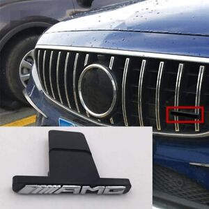 FRONT GRILLE AMG BADGE LOGO FOR W218 CLS -CLASS PANAMERICANA GT