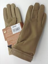 Isontoner Women's Beige Stretch Gloves - One Size - $45 MSRP