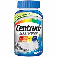 Centrum Silver Men (200 Count) Multivitamin / Multimineral Supplement Tablet