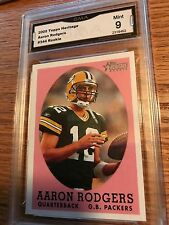2005 Topps Heritage Football  Aaron Rodgers SP RC