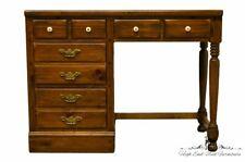 """Ethan Allen Antiqued Pine Old Tavern 40"""" Crp Custom Room Plan Student Desk"""