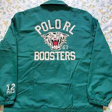 New Men Polo Ralph Lauren Polo RL Boosters Windbreaker Tiger XL Jacket Stadium