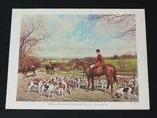 Else Tuckerman - American Equine Artist - William Chadwell & Essex Foxhounds