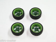 NEW HPI SPRINT 2 Wheels & Tires Set 1969 Mustang 2 Tone Green HS22M
