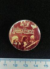 Pin Badge Soviet Underground HEAVY JUDAS PRIEST USSR RUSSIA. Ultra Rare Vintage