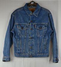 Levi 70503 Denim Hipster Trucker Jacket XS Blue Jean Retro Vintage Red Tab