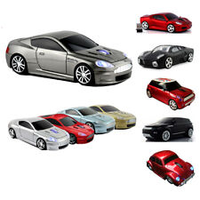 2.4Ghz Wireless USB car Shaped mouse Cordless Optical Laptop PC Gaming LED Mice