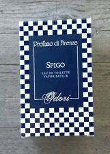 Profumo di Firenze Odori Spigo Eau de Toilette 50 ml / 1.7 fl. oz. – NIB