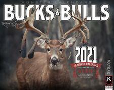 2021 Bucks & Bulls Calendar of Whitetail, Mule Deer and Elk by The KING Company