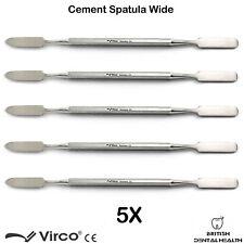 5 X Dental Cement Mixing Spatulas Amalgam Wax Spatula Dentist Laboratory Tool CE