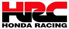 "#z1015 (1) 4.5"" HONDA Racing HRC superbike motorcycle decal sticker vinyl CBR"