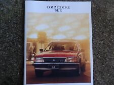 HOLDEN 1981 VH SLE COMMODORE SALES  BROCHURE  100% GUARANTEE.