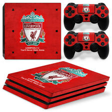 For Sony [PS4 Pro] Skin Sticker Liverpool Vinyl Decal for Console& 2 Controllers