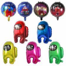 9pcs Among Us Foil Party Balloons Supplies Decorations.