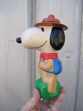 Vintage Snoopy Scout peanuts Figure Bubble Bath Soakie Bottle B7957