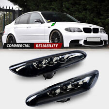 For BMW E82 E88 E60 E61 E90 E91 E92 LED Side Marker Light Turn Signal Lamp Pair