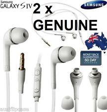 2X GENUINE Handsfree Headphone Earphone for Samsung Galaxy S5 S4 S2 Note 2/ 3