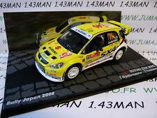 RIT50 voiture 1/43 IXO  Rallye ITALIE SUZUKI SX4 WRC Japon 2008 Gardemeister