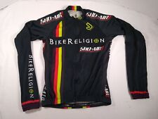 Jakroo Bike Religion Jacket and Vest Mens Size S Cycling Shoa-Air