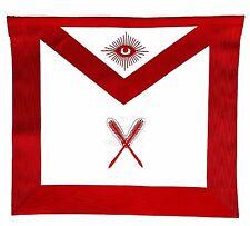 MASONIC REGALIA COLLAR SECRETARY RED Lodge APRON
