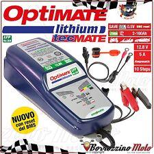MANTENITORE DI CARICA BATTERIE LITIO LIFEPO4 OPTIMATE LITHIUM 4S 2-100AH 5A MOTO