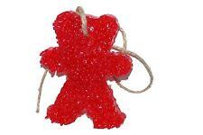ChicWick Car Candle Strawberry Leather Teddy Bear Car Freshener Fragrance