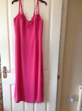Frank Usher evening Dress. Gorgeous pink colour. Size 14