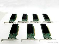 Lot of 7 NVIDIA Quadro NVS 295 256MB GDDR3 PCI Express Dual Display Port