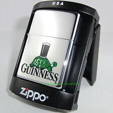 ZIPPO Feuerzeug GUINNESS TORTOISE Bier Irish Beer Turtle Schildkröte NEU OVP
