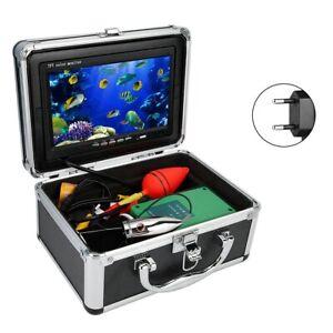 Leitungsl/änge 15 Meter VBESTLIFE Fischfinder Kamera, Angeln im Meer//EIS//See Schwimmen ,Nachtsicht,9 Zoll Doppellampe,F/ür die Unterwassererkennung