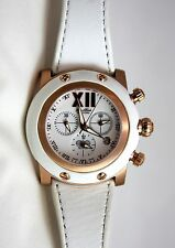 Authentic Glam Rock Women's Miami Chronograph White Watch GR10100 Rose Gold NEW