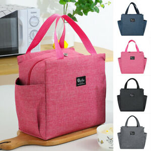 Thermal Insulated Lunch Bags Cool Bag Picnic Adult Kids Lunch Box Food Storage
