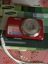Samsung PL20  Digital Camera RED