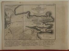 SYDNEY AUSTRALIA 1815 LESEUR & BOULLANGER RARE ANTIQUE MAP CZECH EDITION