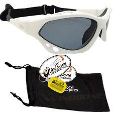 SeaSpecs Classic Lightning Specs White WaterSport Polarized Kite Surf Sunglasses