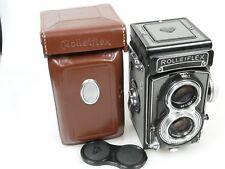 Rolleiflex T Tessar 3,5/75mm + Tasche Gurt case + strap wunderschön beautiful