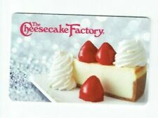 Cheesecake Factory Gift Card - Restaurant - Shiny Silver- No Value - I Combine