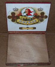 Hofnar Long Corona Wood Cigar Box