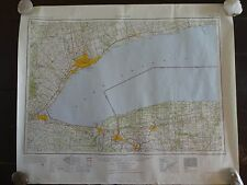 1952 - Large Geographic Map of Toronto, Canada - Army Map Service