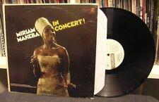 """Miriam Makeba """"In Concert"""" LP EX WLP Promo Mono Nina Simone The Skylarks"""