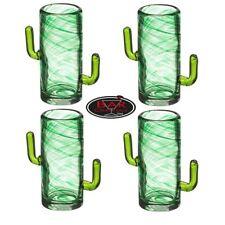 ASTA ORIGINALE THE AVANZATE Collezione Cactus BICCHIERINI VETRO SET DI 4 50 ml