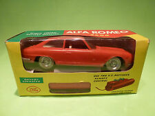 KING 3364 ALFA ROMEO 2600 - 1:24 - REMOTE CONTROL - MINT IN BOX - EXTREMELY RARE