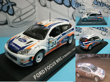 Car coche voiture carro  Ford Focus WRC  Rallye Portugal 2001  Ixo/Altaya 1:43