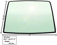 1967-68 Mustang Fastback Rear Window Tinted Glass w/ Rubber Seal New